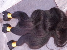 Ganpati Indian Natural Remy Human Body Hair Extension