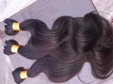 Ganpati Indian Natural Remy Human Body Hair Extension